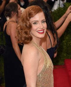Get the Look: Jessica Chastains Met Gala Makeup