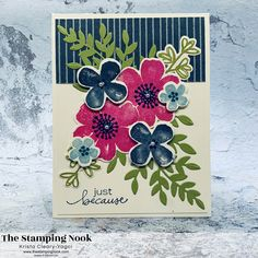 Rose Outline, Make Your Own Card, Wink Of Stella, Fancy Fold Cards, Flower Stamp, Ink Stamps, Card Tutorials, Ink Pads, Card Tags