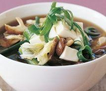 Japanese Vegetables Tofu Soup (Atkins Diet Phase 3 Recipe) | Diet Plan 101