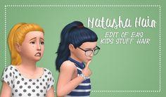 Girls Natasha Hair by xDeadGirlWalking at SimsWorkshop