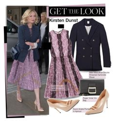 """Get the Look: Kirsten Dunst"" by hamaly ❤ liked on Polyvore featuring Gucci"
