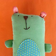 Bailey Bear softie pattern