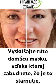 Vyskúšajte túto domácu masku, vďaka ktorej zabudnete, čo je to starnutie. Hair Beauty, Health, Face, Astrology, Salud, Health Care, Faces, Healthy