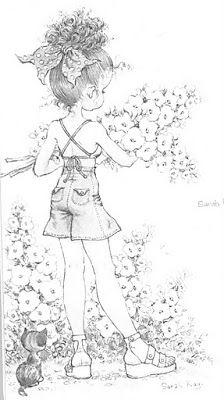 Art Sanalia Sara Kay Adolescente Em P B Desenhos Para Colorir