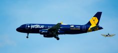 https://flic.kr/p/yHrKff | Airbus 320 de jetBlue, painted blue... en honor a los veteranos