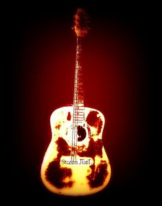 Guitar by suzen juel Music Websites, Guitar Art, Acoustic, Original Art, Articles, Christmas Ornaments, The Originals, Holiday Decor, Pictures
