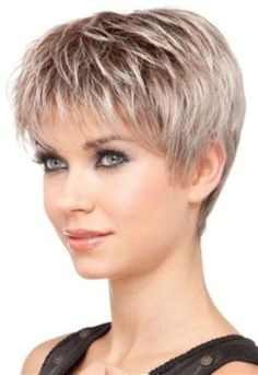 Today we have the most stylish 86 Cute Short Pixie Haircuts. We claim that you have never seen such elegant and eye-catching short hairstyles before. Pixie haircut, of course, offers a lot of options for the hair of the ladies'… Continue Reading → Short Grey Hair, Very Short Hair, Short Hair With Layers, Short Hair Over 50, Hair Styles For Women Over 50, Medium Hair Styles, Curly Hair Styles, Hair Medium, Fine Short Hair Styles