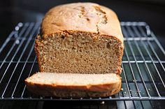 EASY RECIPE -- Peanut Butter Bread -- Made in a blender with basic common ingredients