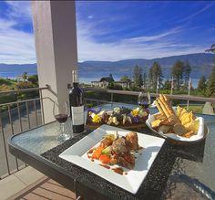 Vineyard Terrace restaurant Cedar Creek Estate Winery Kelowna, BC -- luxury accommodation in West #Kelowna: #Boutique B & B www.lakeviewmemories.com