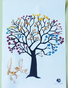 6-arbre-en-peinture-jouonsensemble Craft Activities, Preschool Crafts, Diy For Kids, Crafts For Kids, Crafts For Seniors, Art Lessons, Diy And Crafts, Moose Art, Crafty