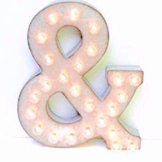Testo scorrevole luce su lettera decorazione   Tendone a mano lettera…