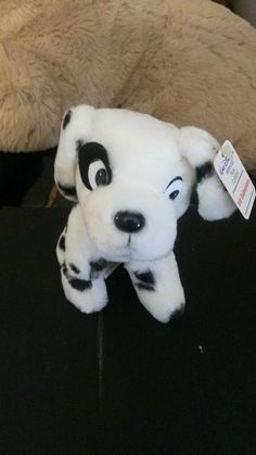 101 Dalmatians Disney Animated Film Classics 1985 Plush Dalmatian Puppy