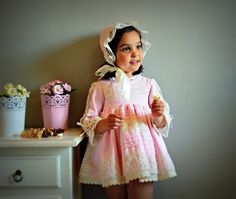 ROMINA (1T to 6Y+).Flower Dress.Gown.Cotton,bobbin lace.Custom your OWN outfit.Baptism.Heirloom.Easter.Wedding.Communion.Birthday.Tea party. by Moniquesthingsshop on Etsy https://www.etsy.com/listing/271431098/romina-1t-to-6yflower