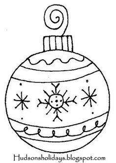 Hudson's Holidays - Designer Shirley Hudson: Magical Christmas Ornament- freebie