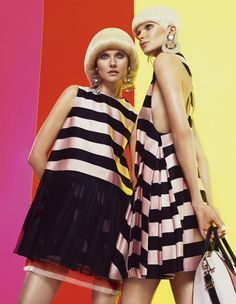 FT How To Spend It magazine reinterprets 60's Mod style for its March issue.
