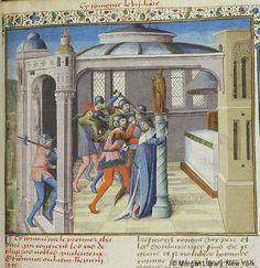 Des cas de nobles hommes et femmes, MS M.343 fol. 74r - Images from Medieval and…