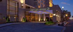Capitol Hilton Hotel, Washington D.C. - Hotel Exterior at Dusk