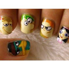 funny nails, perry