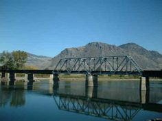 the railway is an important part of the Kamloops landscape