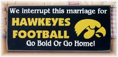 We interrupt this marriage for Hawkeyes by pattisprimitives, $14.00