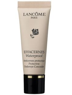 For my mega dark circles. Lancome Effacernes Waterproof Protective Undereye Concealer Review: Makeup: allure.com