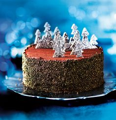 Collection Salted Caramel Chocolate Forest Cake