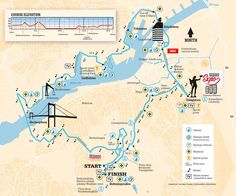 Route Map GöteborgsVarvet - Gothenburg Half Marathon