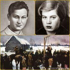 Вера Волошина и Зоя Космодемьянская : Путь на эшафот