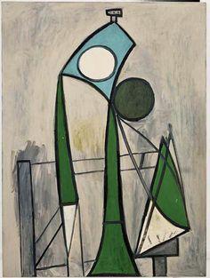 'Femme dans un fauteuil' (1946) by Pablo Picasso