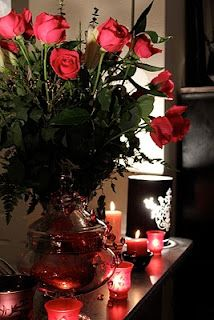 Roses and Candles any time of the year from your honey.