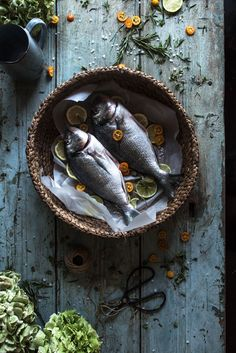 Sea Bream with Kumquat & Herbs in the oven | Τσιπούρα με κουμκουάτ και βότανα - Cinnamon Spice
