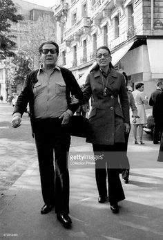 Maria Callas and his companion Di Stefano Paris in Get premium, high resolution news photos at Getty Images Maria Callas, Most Beautiful Women, Beautiful People, Opera News, Heaviest Woman, Opera Singers, Composers, Perfect Woman, Rare Photos