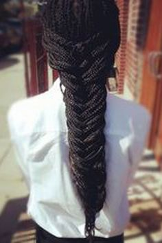 How to style box braids: 50 Stunning Ideas From Pinterest                                                                                                                                                                                 More