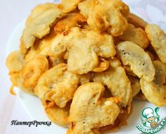 Houby v neobvykle křupavém těstíčku Snack Recipes, Healthy Recipes, Snacks, Batter Recipe, Russian Recipes, Macaroni And Cheese, Food To Make, Stuffed Mushrooms, Appetizers