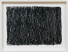Richard Serra - Ramble 2015 litho crayon and pastel powder on paper 13 ¼ × 18 ¾ inches unframed × cm) Richard Serra, Gagosian Gallery, Abstract Drawings, Abstract Paintings, Action Painting, Paris Art, Mark Making, Art Fair, Art World