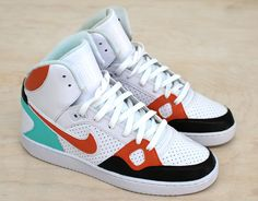599a9436f3de Son of Force - Custom Hand Painted Nike Sneakers Painted Vans