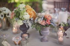 Beautiful Flowers For A Vintage Themed Bridal Shower
