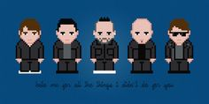 Blue October Rock Band Digital PDF Cross by AmazingCrossStitch