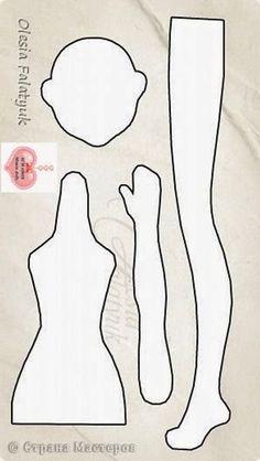 Risultati immagini per bonecas tilda bailarina Fabric Doll Pattern, Doll Sewing Patterns, Sewing Dolls, Doll Clothes Patterns, Doll Crafts, Diy Doll, Homemade Dolls, Fabric Toys, Doll Tutorial
