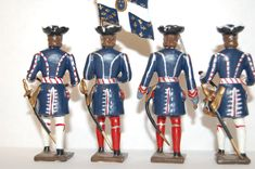 12 VINTAGE CBG MIGNOT LEAD FRENCH GUARDS | eBay