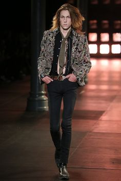 Saint Laurent Spring-Summer 2015 Men's Collection