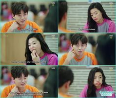 shim cheong in sauna eating boiled eggs funny - The Legend of the Blue Sea - Episode 11