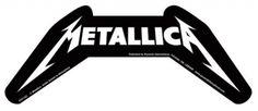 #Sticker METALLICA - Lettrage #metallica www.rockagogo.com