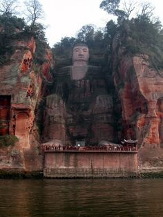 Amazing Places you Should Visit in Your Life, Part 2 - Leshan Giant Buddha, Sichuan, China