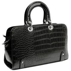 top handle bags: MG Collection MAHDIS Black Vintage Style Faux Crocodile Office Tote Handbag New Handbags, Vintage Handbags, Tote Handbags, Purses And Handbags, Clearance Handbags, Designer Bags For Less, Crocodile Handbags, Discount Designer Handbags, Tote Bag