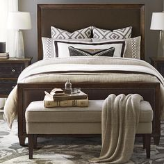 Universal Curated Queen Spencer Universal Furniture Curated Spencer Storage  Bed King