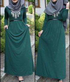 Basic Sleeved Maxi Dress                                                                                                                                                     More