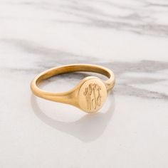The beautiful Personalised Monogrammed Signet Ring is handcrafted in our Brighton workshop. Shop here at Posh Totty Designs. Jewelry Rings, Jewelry Accessories, Jewellery, Craft Jewelry, Diamond Jewelry, Fine Jewelry, Wax Seals, Signet Ring, Rose Gold Plates