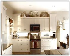 32 Best Decorating Above Kitchen Cabinets Images Home Decor Above