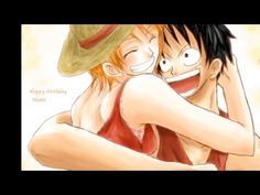 Luffy X Nami My Lucky Strike - YouTube AMV